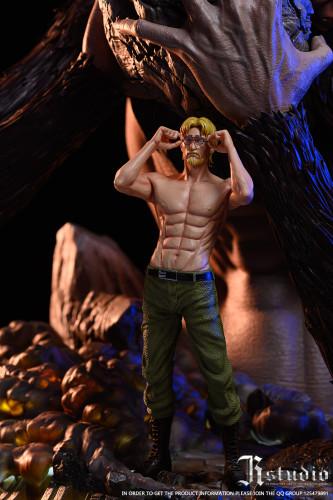 【Preorder】JR Studio Attack on Titan Eight Giants Resonance Series Beast Titan Resin Statue