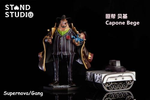【Preorder】Stand Studio One Piece POP Capone Bege Resin Statue