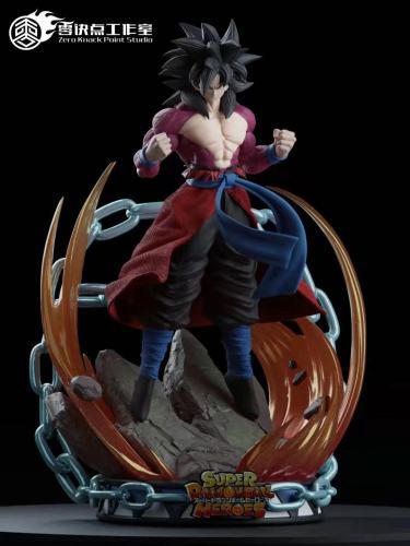 【Preorder】Zero Knack Point Studio Dragon Ball Hero Goku Xeno Resin Statue
