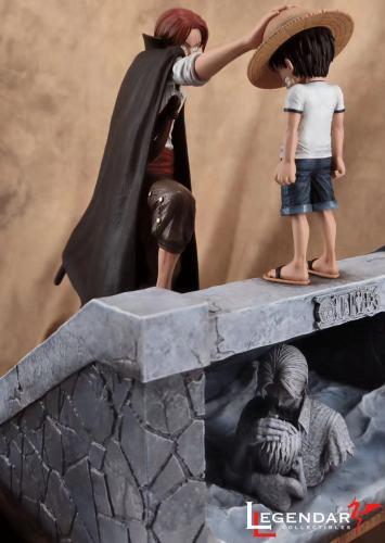 【Preorder】Legendary Book Studio One Piece Luffy&Shanks Resin Statue