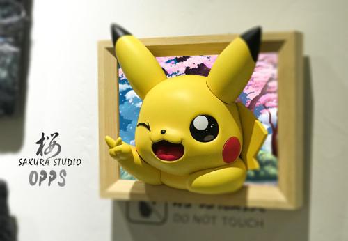 【Preorder】SAKURA Studio x OPPS Studio Pokemon Pikachu Photo Frame Ornament