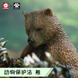 【Preorder】JacksMake Animal Protection Act Series Bear's paw Resin Statue