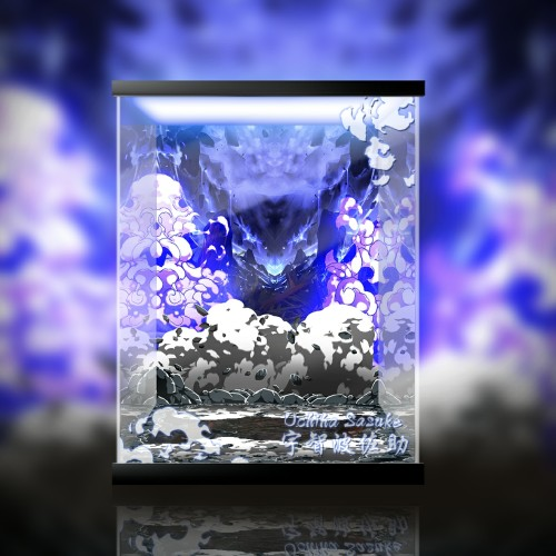 【In Stock】Tsume Naruto Sasuke Resin Statue Acrylic Display Box