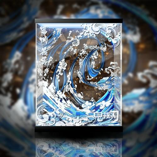 【In Stock】Jianke SDS Studio Demon Slayer Tomioka Giyuu Statue Acrylic Display Box