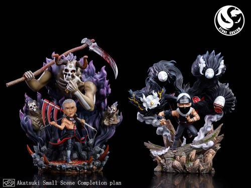 【Preorder】Stone Custom x Surge Studio Naruto Kakuzu & Hidan Resin Statue