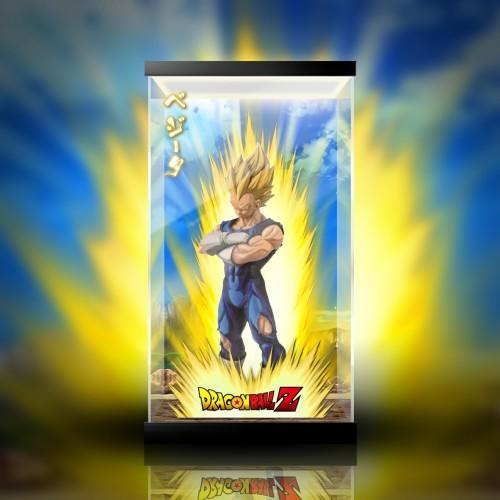 【In Stock】Banpresto SMSP Goku Vegeta PVC Figure Acrylic Display Box
