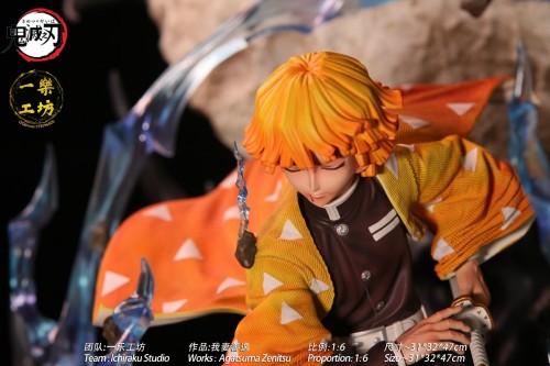 【Preorder】Ichiraku Studio Demon Slayer Agatsuma Zenitsu Resin Statue