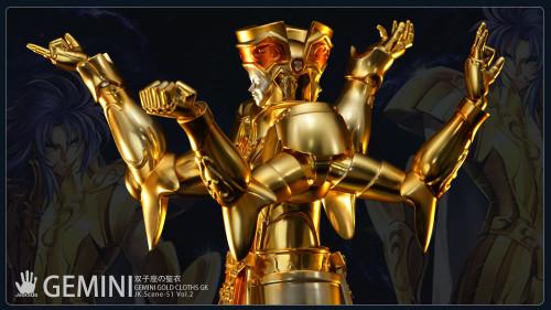 【Preorder】JacksDo JacksDo Saint Seiya Gemini Gold Cloths Vol.2 Resin Statue