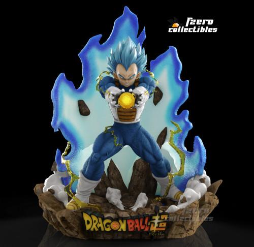 【Preorder】FZero Collectibles Dragon Ball Vegeta SSBSS Final Flash Resin Statue