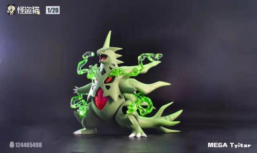 【Preorder】MEGA Tyitar Studio Pokemon Domineering Mega Tyranitar Resin Statue