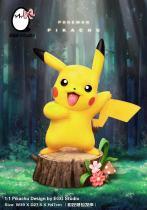 【Preorder】EGG Studio Pokemon Image control induction phonation Pikachu Resin Statue