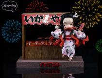 【Preorder】Morning Studio Demon Slayer Kamado Nezuko Summer Festival Resin Statue