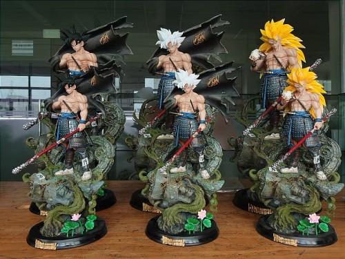 【In Stock】Blue Sky Studio Dragon Ball samurai Goku Resin Statue