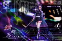 【Preorder】EMO Studio Demon Slayer Kochou Shinobu Cyberpunk Resin Statue
