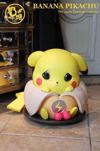 【Preorder】Toffee Studio Pokemon Poor banana Pikachu Resin Statue