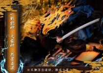 【Preorder】NIREN Studio Demon Slayer Agatsuma Zenitsu Resin Statue