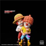 【Preorder】YZ Studio ONE PIECE SHANKS & BUGGY Resin Statue