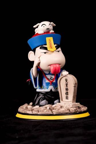 【In Stock】PatPat Studio Corpse Crayon Shin-chan Resin Statue