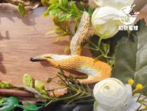 【Preorder】Animal Planet A fox burrowing in the ground Resin Statue