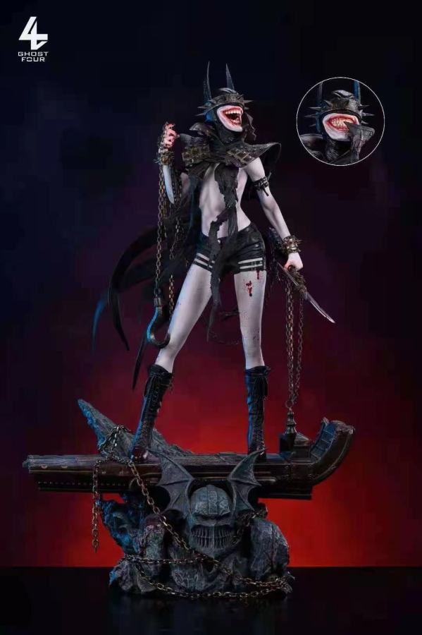 【Preorder】GHOST FOUR The Batwoman Who Laughs Resin Statue