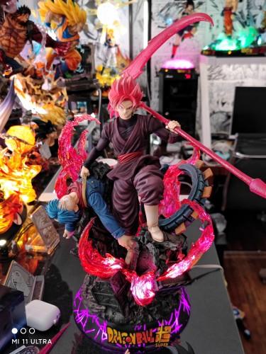 【In Stock】Light Weapons Studio Dragon Ball Rose Goku Resin Statue
