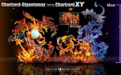 【Preorder】Crescent Studio Pikachu cosplay Charizard Resin Statue
