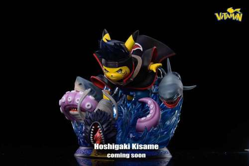 【Preorder】Vitamin Studio Pikachu cosplay NARUTO Hoshigaki Kisame Resin Statue