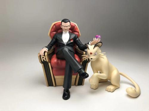 【Preorder】KDTJBQG Studio Pokemon Giovanni&Persian Resin Statue