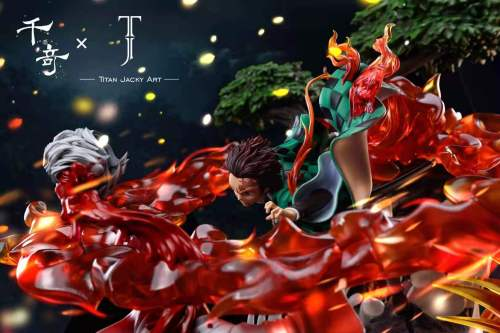 【Preorder】Qianqi Studio x TJA Studio Demon Slayer Tanjirou Resin Statue
