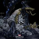 【Preorder】HEPHAESTUS Studio Venom VS Spider-Man & Carnage Resin Statue