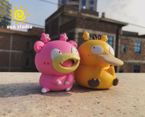 【Preorder】sun Studio Pokemon  Slowpoke Slowbro Resin Statue