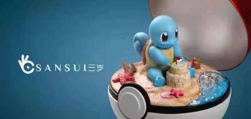 【Preorder】Sansui Studio Pokemon Squirtle Resin Statue