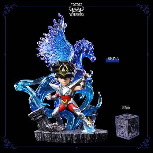 【Preorder】YZ Studio Saint Seiya Pegasus Seiya てん ま りゅうせい けん Resin Statue