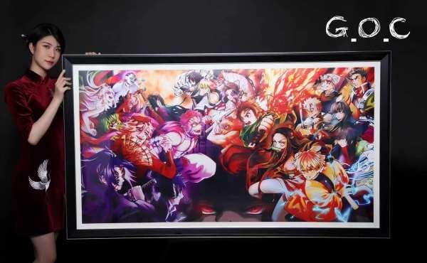 【Preorder】G.O.C Studio Demon Slayer Grand Collection ecorative painting