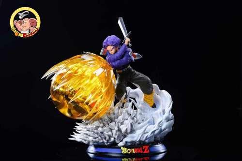【Preorder】Oolong factory Studio Dragon Ball Trunks vs Metal Frieza Resin Statue