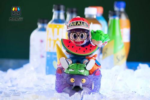 【Preorder】Morii Studio Eat watermelon Dr.Slump Resin Statue