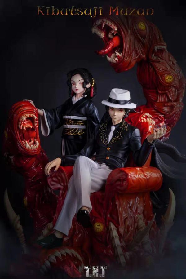 【Preorder】T.N.T Studio Demon Slayer Kibutsuji Muzan Resin Statue