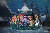 【Preorder】YZ Studio ONE PIECE Whitebeard Pirates ELMY&RAMBA Resin Statue