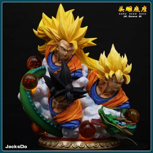 【Preorder】JacksDo Dragon Ball P1S GOKU Head Base