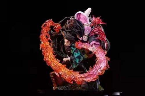 【Preorder】 Scratch Stuido Demon Slayer Kamado Nezuko Kamado Tanjirou Resin Statue