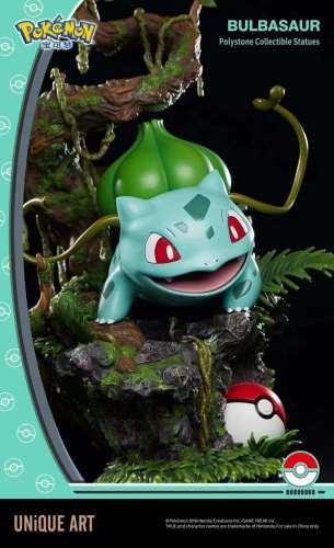 【Preorder】UNiQUE ART Pokemon Bulbasaur Polystone statue