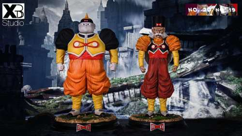 【Preorder】XBD-Studio Dragon ball Android#19 Android#20 resin statue