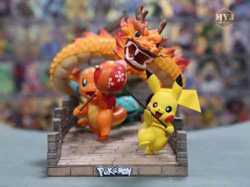 【Preorder】MYJ Studios Pokemon Great Wall Dance resin statue