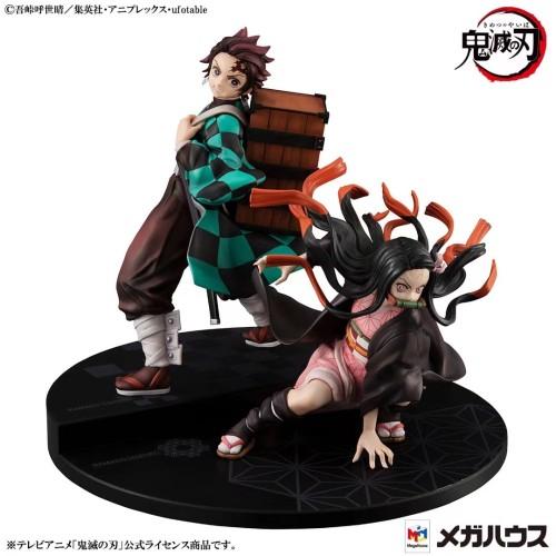 【Preorder】MegaHouse Studio Demon Slayer Kamado Tanjirou Kamado Nezuko PVC Statue
