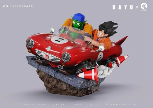 【Preorder】Fattboy x Dayu Studio Dragon Ball Goku Piccolo Resin Statue