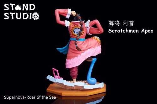 【Preorder】Stand Studio One Piece Scratchmen Apoo resin statue
