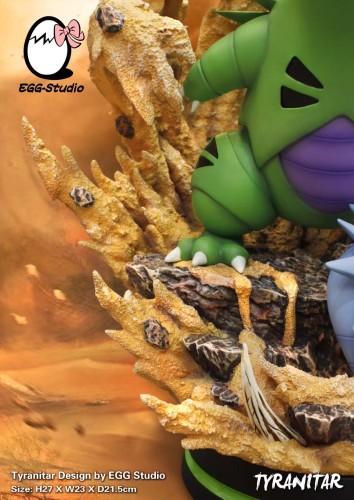 【Preorder】EGG Studio Pokemon Tyranitar Resin Statue