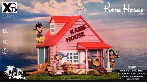 【Preorder】XBD-Studio Dragon Ball Master Roshi and his house Resin Statue