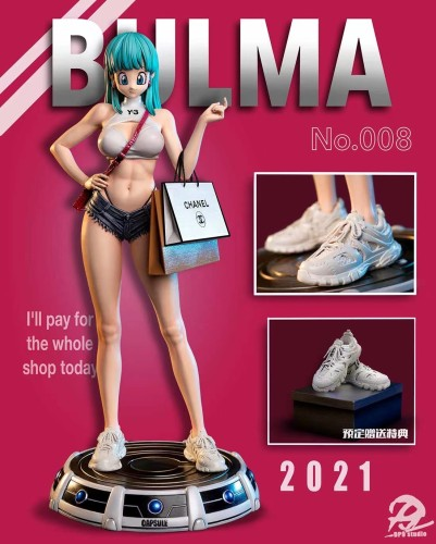 【Preorder】DP9 studio Dragon Ball Bulma Charlotte Linlin Resin Statue