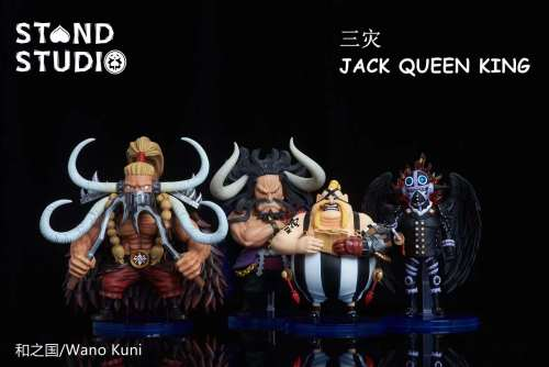 【Preorder】Stand Studio One Piece KING JACK resin statue